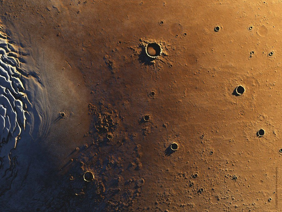 Северный полюс Марса и Северный разлом