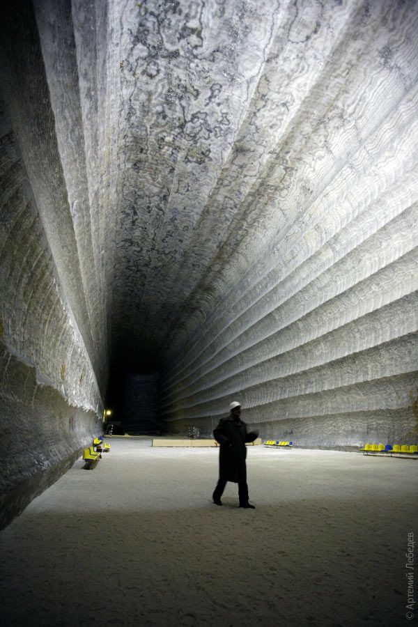 Самое крупное месторождение соли в Европе, находится...