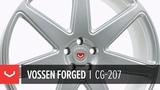 Vossen Forged CG-207 Wheel Satin Silver
