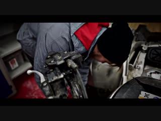[Андрей Скутерец] СОВЕТСКИЙ СТЕНС ТРАЙК МУРАВЕЙ #1 распиливаем квадроцикл Yamaha Grizzly