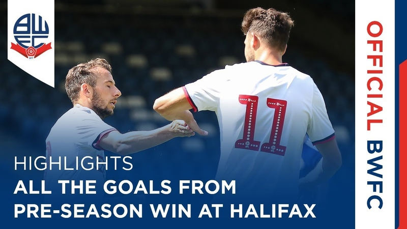 HIGHLIGHTS | All the goals from pre-season win at Halifax