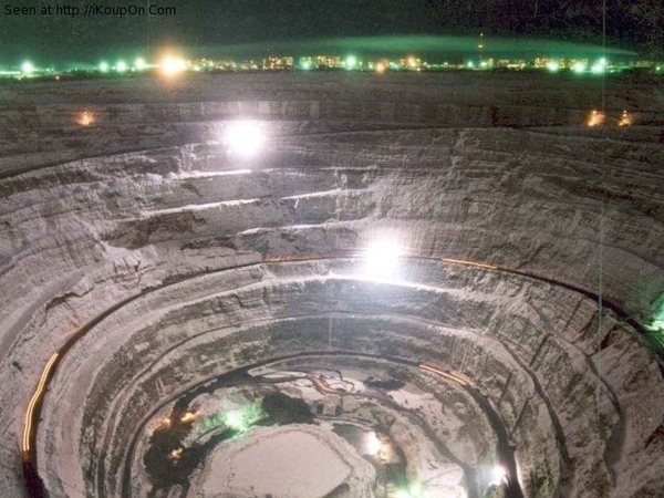 Mirny Mine World's Biggest Diamond Mine Russia
