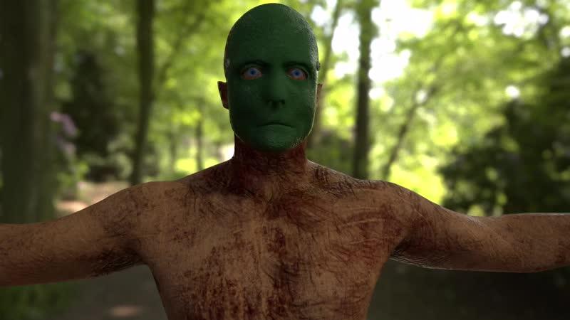 Зелёная маска