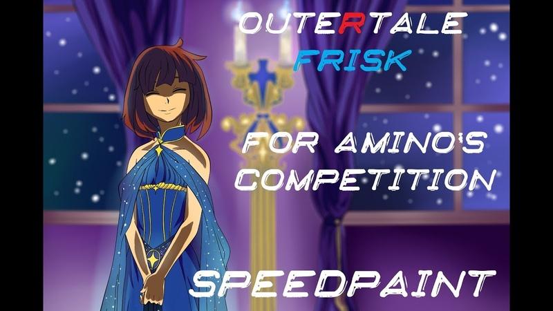 Outertale Frisk для конкурса Амино