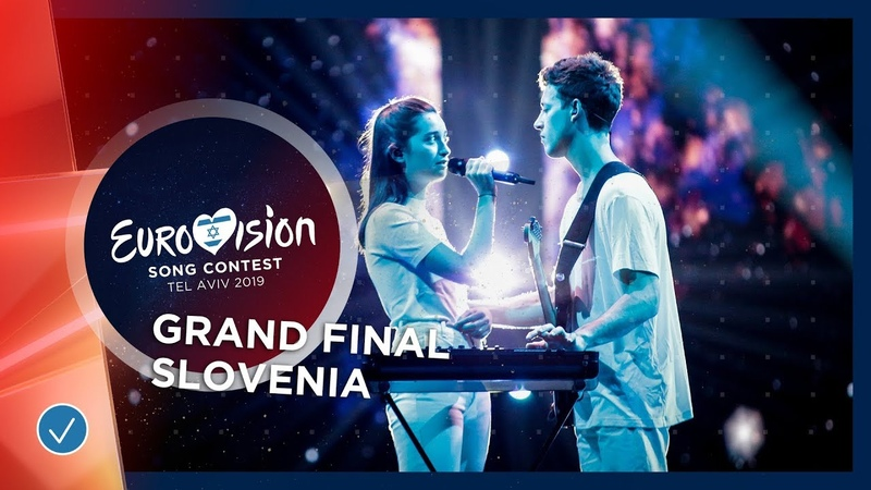Slovenia - LIVE - Zala Kralj Gašper Šantl - Sebi - Grand Final - Eurovision 2019