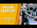 Star Performance Devon Saddler vs Loko 22 pts