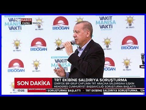 Cumhurbaşkanı Erdoğanın Ak Parti Manisa - Akhisar Mitingi Konuşması 28 Mayıs 2018