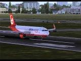 FSX SIMULATOR-Take-of Berlin,,,