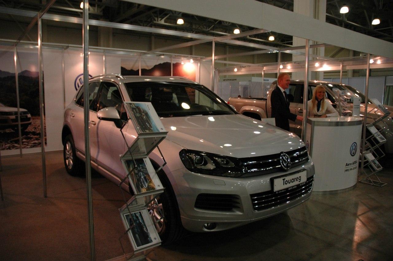 Авто АЛЕА на выставке