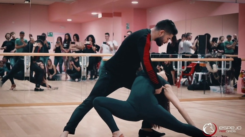 Bachata workshop / Marco Sara style / Perugia 2018 / love dancing