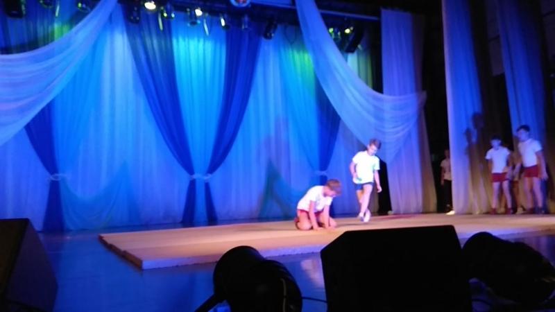 Акробатика самбо на сцене дк бко