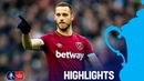 West Ham 2-0 Birmingham City   Carroll Heads Hammers into Fourth Round   Emirates FA Cup 18/19