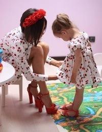 Платья для мамы и дочки одинаковые купить в минске