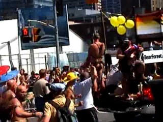 Toronto Gay Pride Parade - Pt 4 (Featuring Jews For Israel, Kulanu Jewish Group & Leathermen)