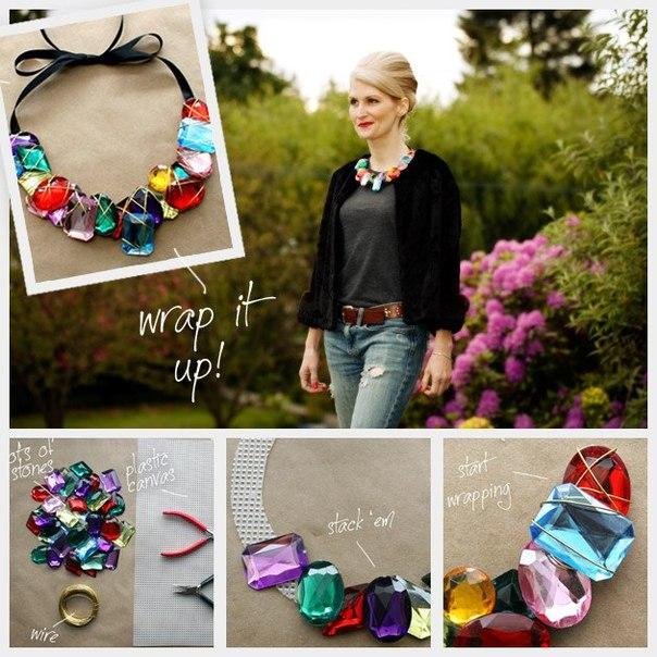 FashionMargoGirl: Ожерелье своими руками