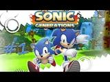 Прохождение Sonic Generations (PC) #1 - Green Hill, Chemical Plant