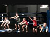 Александр Гилев (FIGHT CLUB CLINCH) - тренер детской группы по тайскому боксу