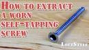 3 ways to extract a worn self-tapping screw / 3 способа как выкрутить сорванный саморез