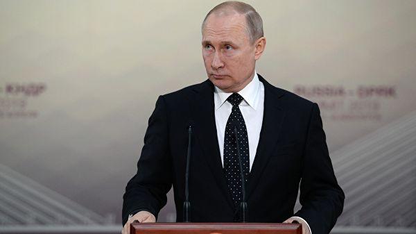 Путин назвал условие для конструктивного диалога с Зеленским