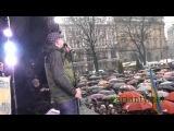 Жолоб посилає Михальчишина додому (львівський Євромайдан)