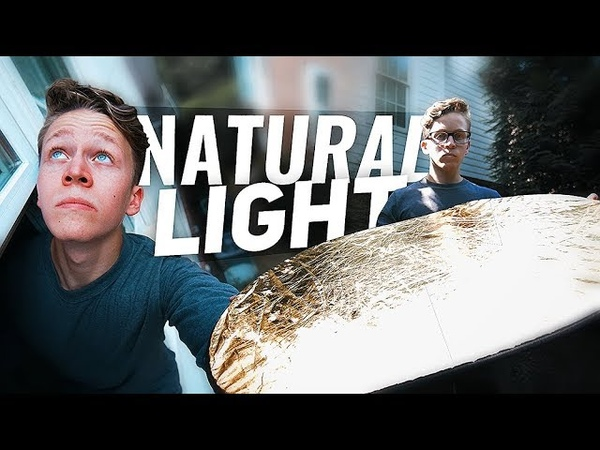 How to Shoot GREAT VIDEO in NATURAL LIGHT