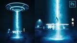 UFO Abduction! - Photo manipulation tutorial