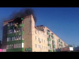 Взрыв газа в пятиэтажке в Татарстане