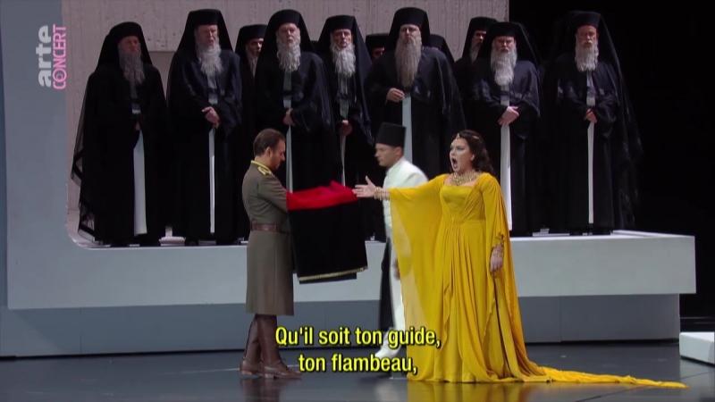 Верди Аида (1) Нетребко Мути Зальцбург 12.08.2017 Verdi Aida Salzburger Festspiele
