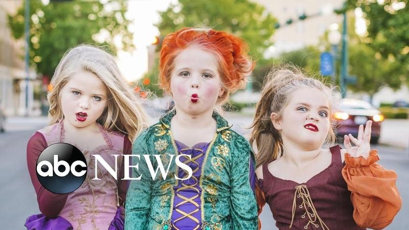 Sisters win Halloween in 'Hocus Pocus' Costumes