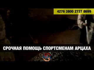 Помощь Арцах Armenia MMA