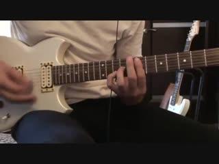 Соло Каспаряна на гитаре