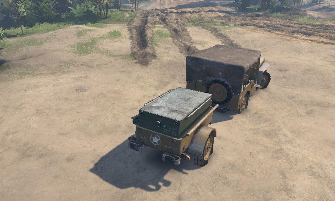 Jeep Willy 1942 для 03.03.16 для Spintires - Скриншот 1
