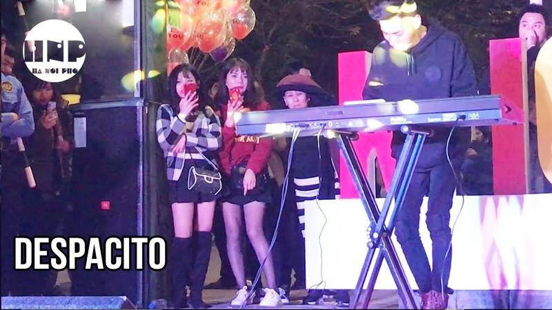 Despacito | Khánh K-ICM Ngẫu hứng Giữa Toàn Girl xinh | làm cả phố đi bộ phấn khích