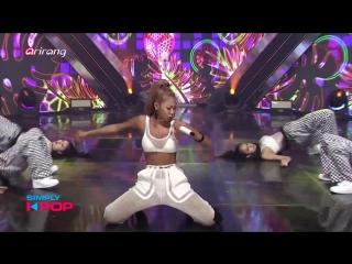 Jessi - Down @ Simply K-pop 180810