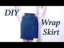 DIY Wrap Skirt ラップスカートの作り方 / Sewing Tutorialㅣmadebyaya