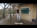 9 Выбрасывание ног вперёд видеоурок Андрея Букрея по прыжкам на скакалке