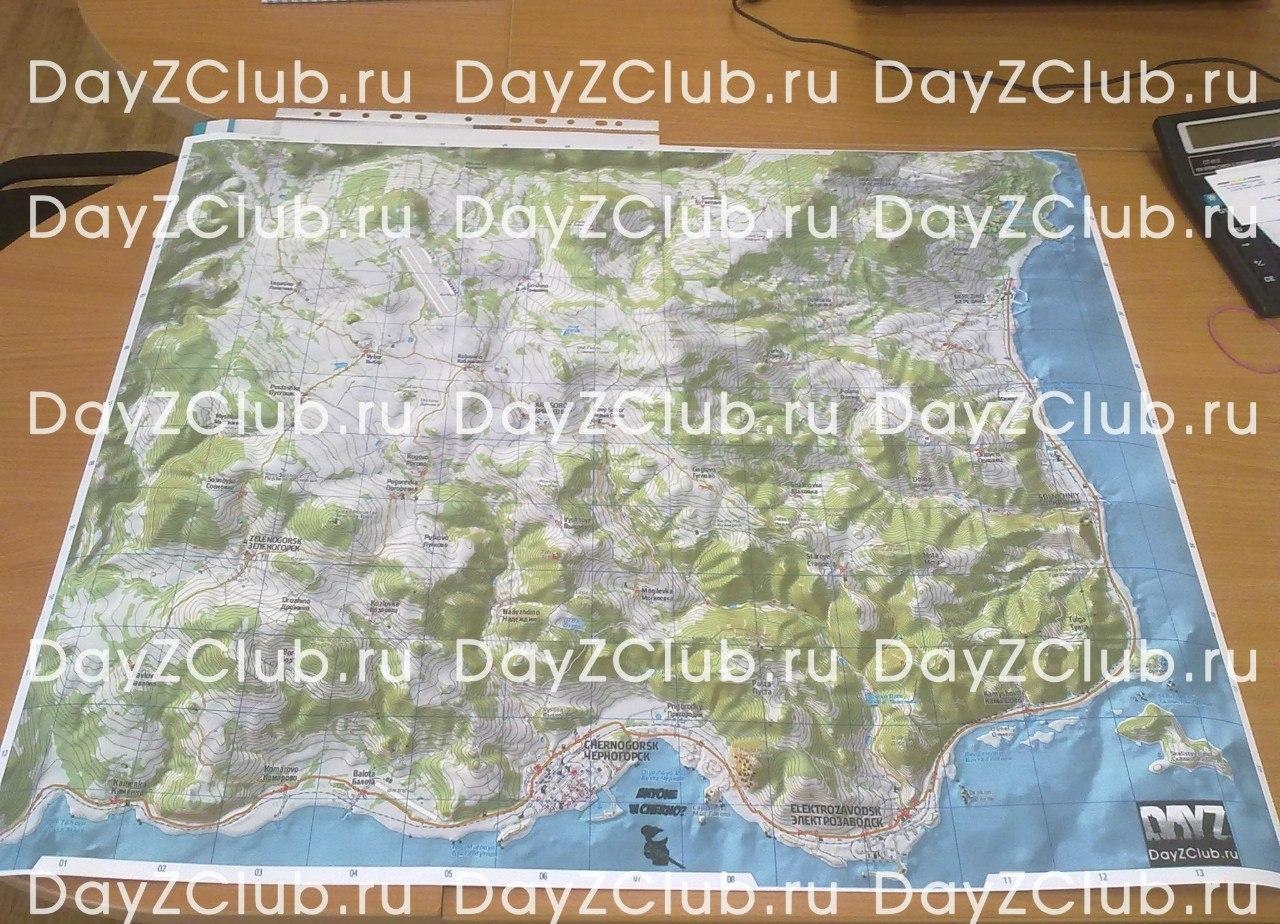dayz карта Черноруссии dayz