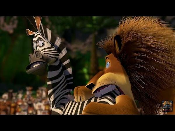 Мадагаскар (2005)- Алекс опять укусил Марти за жопу