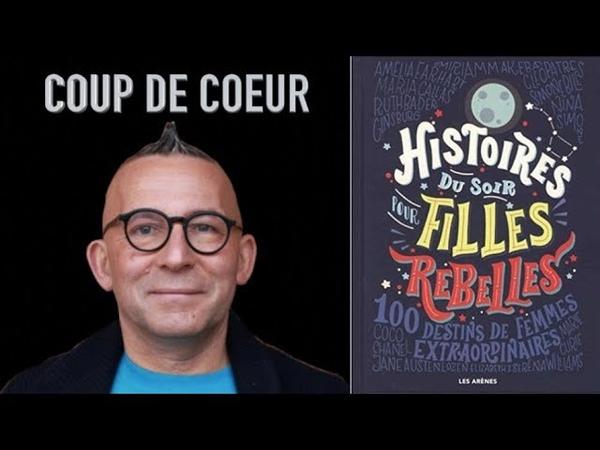 (LIVRE) La chronique de Gérard Collard - Histoires du soir pour filles rebelles - Girl Power
