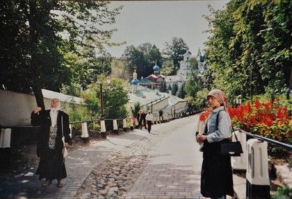 В Псковско-Печерском монастыре.