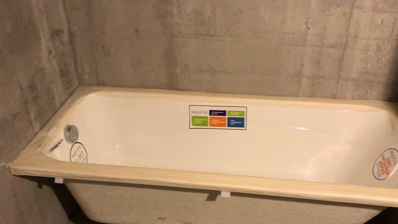 Штукатурка ванная-туалет