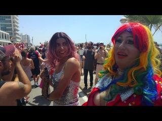 Gay Pride Parade - Tel-Aviv, Israel - June 9, 2017 - UHD