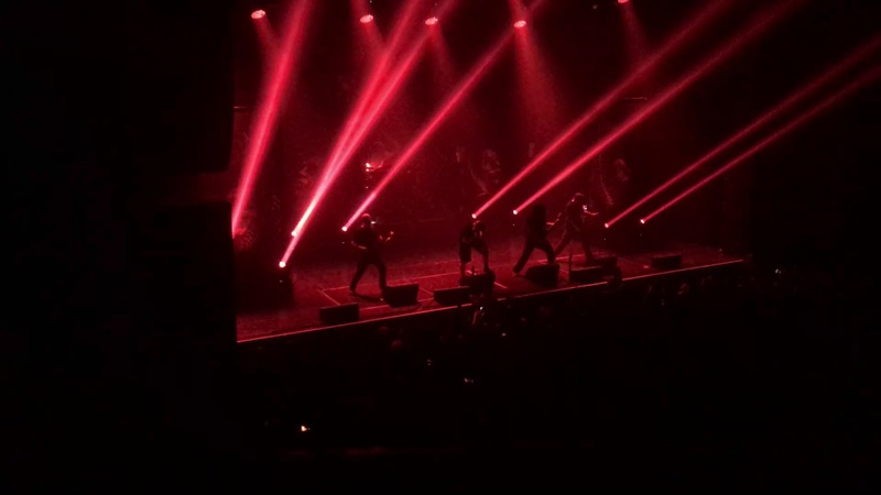Meshuggah (Live at The Wiltern Los Angeles) - 1/29/18 - Rational Gaze