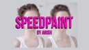 Speedpaint / portrait of a girl / Art / Спидпейнт / девушка / портрет / арт (6)