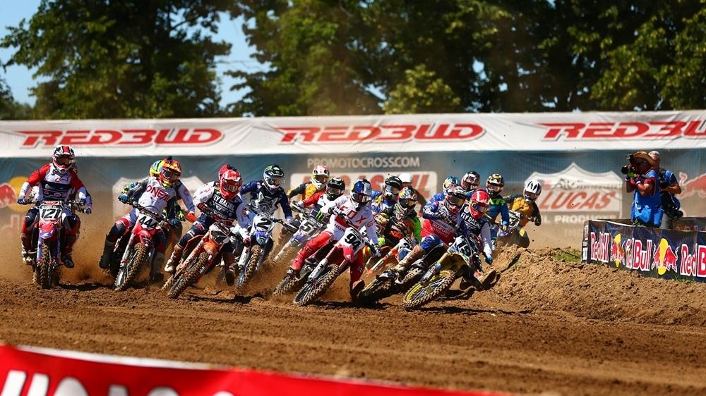 AMA Motocross 2018, этап 7 - РедБад (фото, видео, результаты)