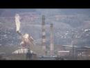 Снос трубы на красноярском цементном заводе закончился трагедией