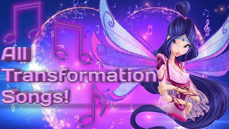 Winx Club: all full transformation songs up to Onyrix in English!