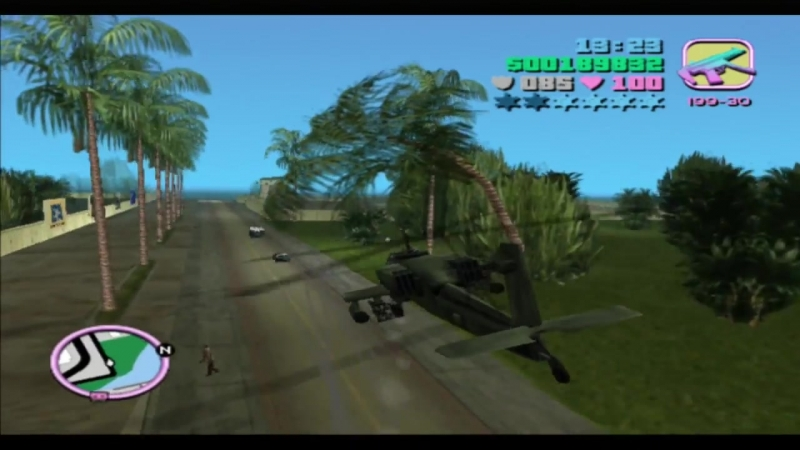 GTA Vice CIty Hunter (Military Helicopter).mp4