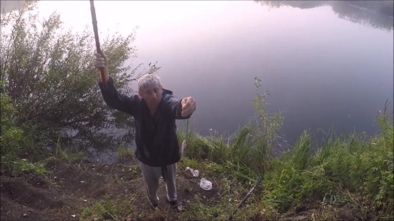 [Вячеслав Плетнев] Выживание! Ловля рыбы, готовка на костре. Рыбалка на...