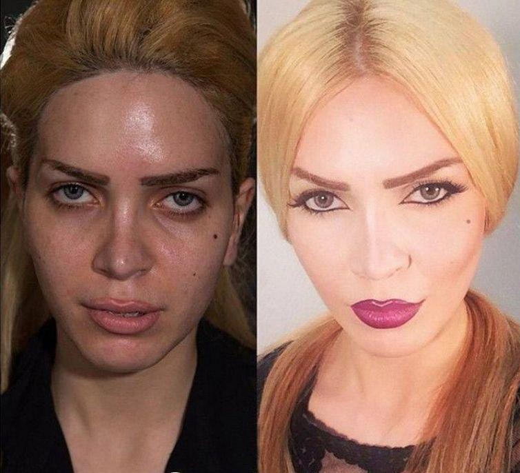 Макияж, Без макияжа, Красивый макияж